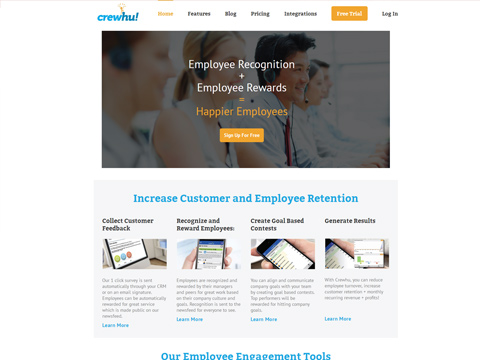 Crewhu- Increase Customer and Employee Retention