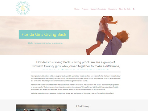 Florida Girls Giving Back